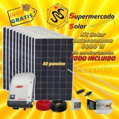 Kit solar con baterías 3510W/5520W 24V