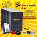 Inversor Hibrido Onda pura 3000VA/24V regulador MPPT60A con cargador AC 60A ecualización automática
