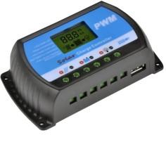 Regulador de carga PWM con...
