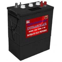 Batería DURASOLAR 6V/550Ah...