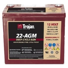 Batería AGM Trojan...