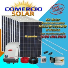 Kit Comercio Solar...