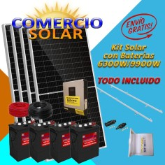 Kit Comercio Solar con...