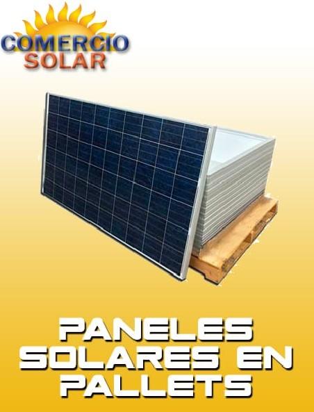 Paneles Solares de 24V en Pallets