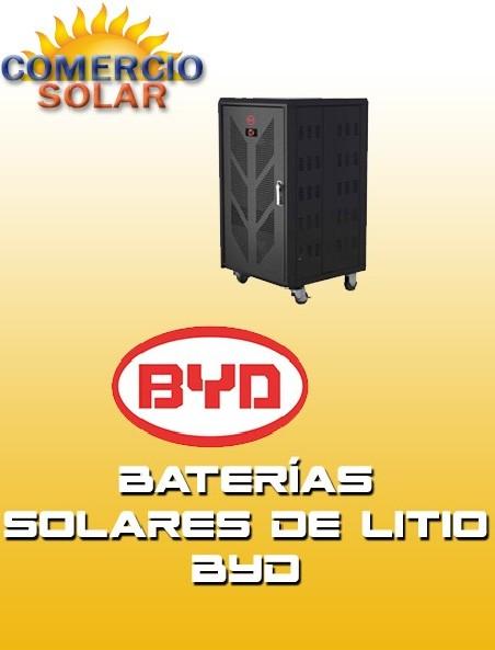 Baterías de Litio Solares BYD