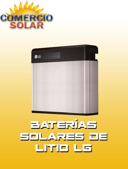 Baterías de Litio Solares LG