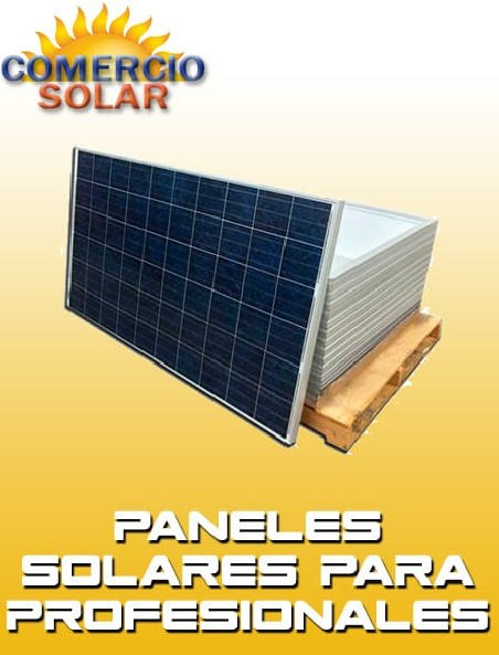 Paneles Solares para profesionales
