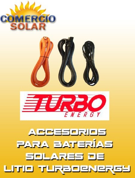 Accesorios BATERIAS DE LITIO TURBO ENERGY