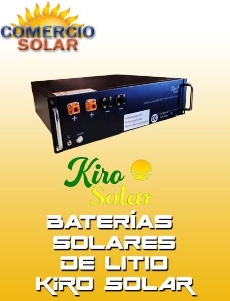 Baterias Solares de Litio Kiro Solar