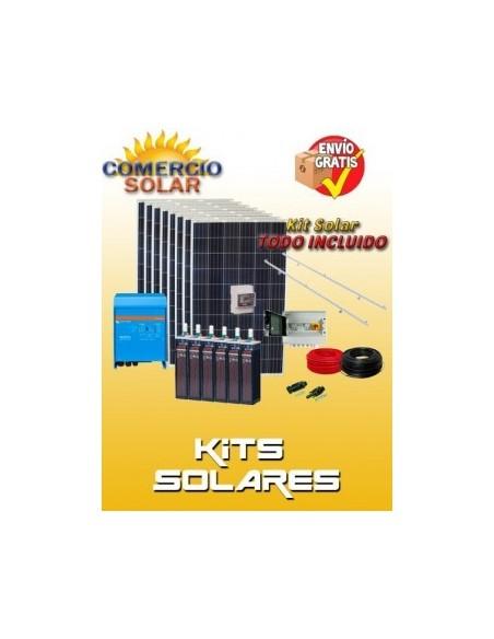 Kits Solares Aislada con Baterías