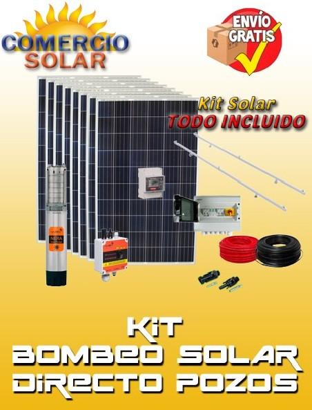 Kits Solares Bombeo Pozos