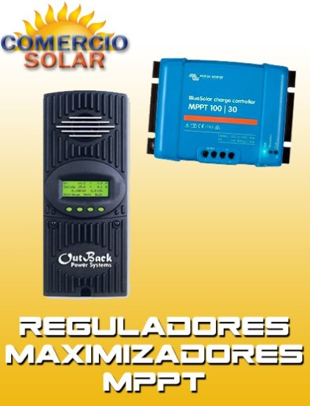 Reguladores de carga PWM con Led