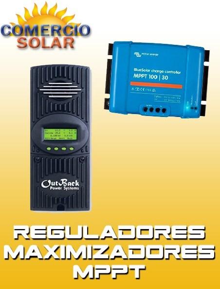 Reguladores de Carga Solar MPPT