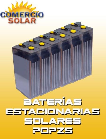 Baterías Estacionarias Solares POPZS 2V