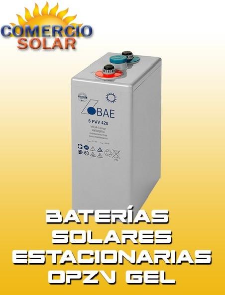 Baterías solares Estacionarias OPZV 2V GEL