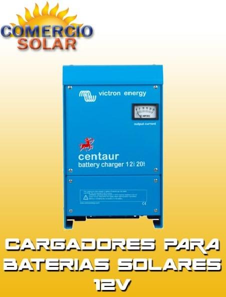 Cargadores para Baterías Solares 12V