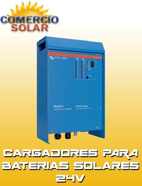 Cargadores para Baterías Solares 24V