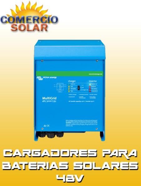 Cargadores para Baterías Solares 48V