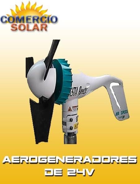 Aerogeneradores de 24V