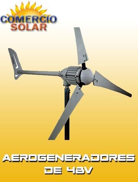Aerogeneradores de 48V