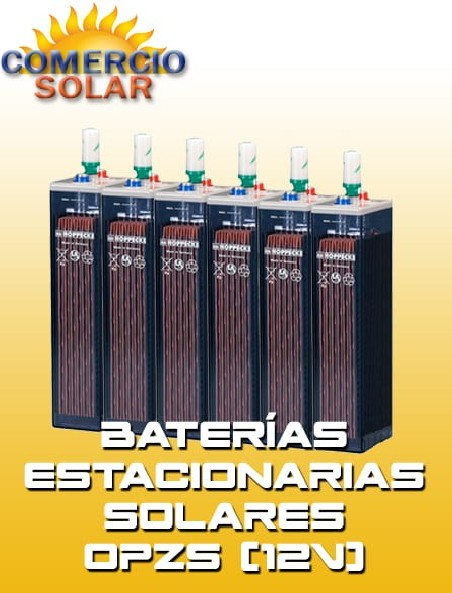 Baterias Estacionarias Solares OPZS 12V