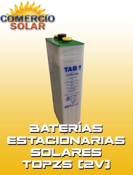 Baterías Estacionarias Solares TOPZS 2V