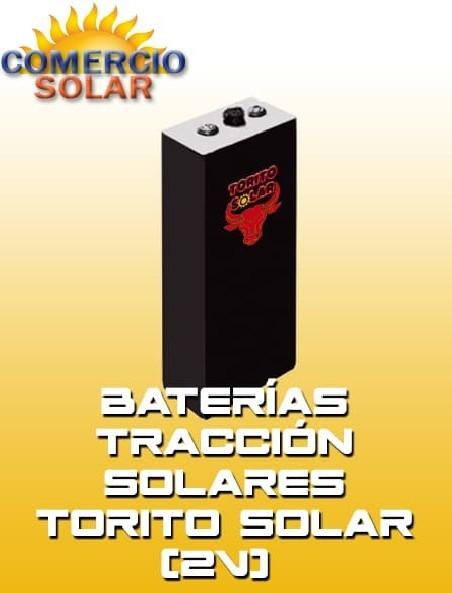 Baterías Tracción Solares Torito solar 2V