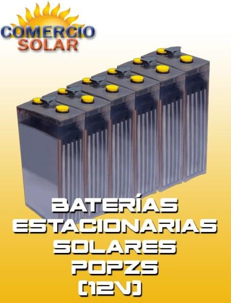 Baterías Estacionarias Solares POPZS 12V